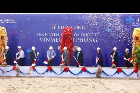 Vingroup khởi công bệnh viện Vinmec Hải Phòng