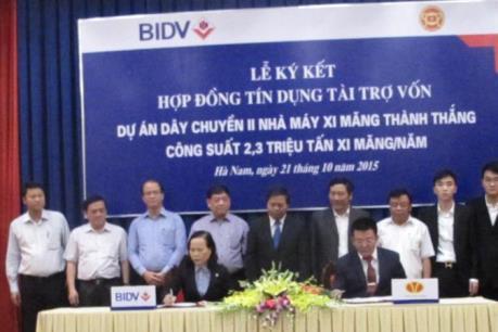 BIDV tài trợ 3.500 tỷ đồng cho dự án xi măng ở Hà Nam