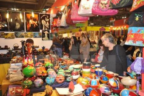 600 nhà nhập khẩu tham dự Hội chợ quà tặng hàng thủ công mỹ nghệ