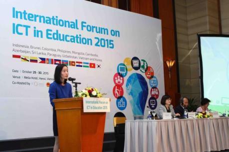 Hàn Quốc hỗ trợ Việt Nam ứng dụng công nghệ thông tin trong giáo dục