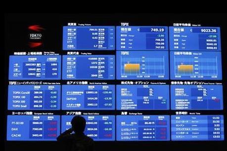 Chứng khoán châu Á tăng khiêm tốn trước quan ngại về triển vọng kinh tế thế giới