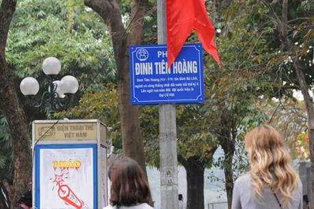 Đặt tên đường phố Thủ đô cần tiêu chí cụ thể