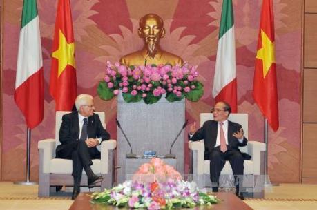 Việt Nam và Italia tăng cường hợp tác kinh tế
