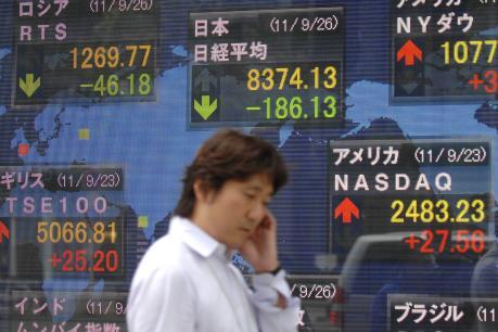 """Thị trường chứng khoán Thượng Hải đạt mức """"đỉnh"""" kể từ tháng Tám"""