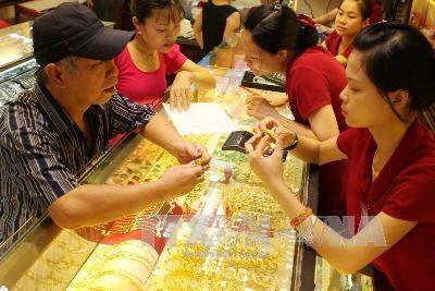 Giá vàng vẫn nằm trong vùng đáy của 3 tháng qua