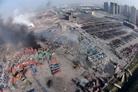 Lở đất và nổ khí ga tại Trung Quốc gây nhiều thương vong
