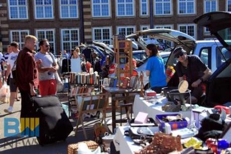 Sức thu hút khó cưỡng của chợ đồ cũ tại London