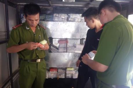 Tây Ninh xử lý nhiều vụ vận chuyển đỉa trái phép