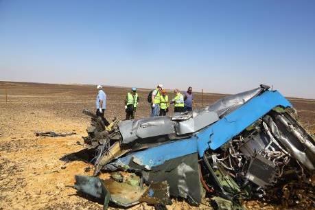 Phát hiện mới trong vụ máy bay Nga rơi tại Ai Cập