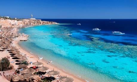 Khu nghỉ dưỡng Sharm el-Sheikh vắng bóng du khách