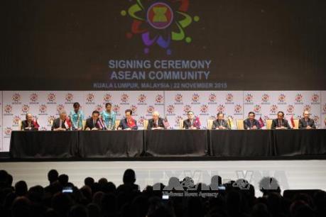 Chính thức hình thành Cộng đồng ASEAN 2015