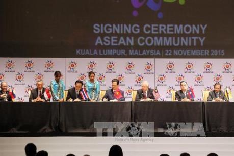 Thông cáo báo chí về việc ký thành lập Cộng đồng ASEAN