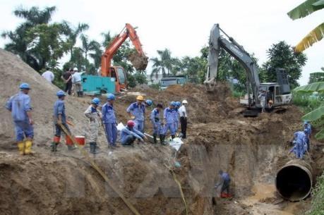 Đường ống nước sông Đà 14 lần vỡ: Đề nghị truy tố 9 bị can
