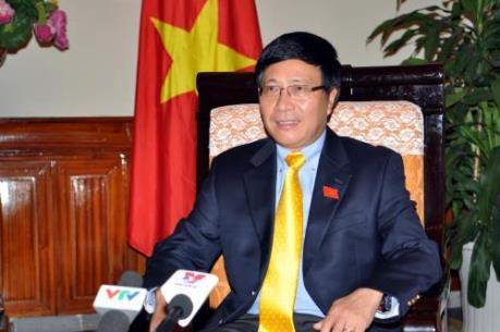 Phó Thủ tướng Phạm Bình Minh: Sẽ có quỹ hỗ trợ cho các nước bị hạn hán