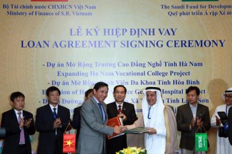 Việt Nam vay 29 triệu USD của Arab Saudi