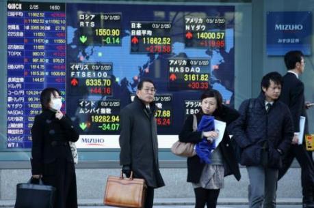 Chứng khoán châu Á chìm trong vùng đỏ do đà giảm sâu của giá dầu