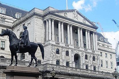 BoE chưa thay đổi chính sách lãi suất do lạm phát thấp