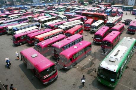 Tuyến xe khách Hải Phòng – Hà Nội: Cung vượt cầu nhưng vẫn cấp phép chuyến mới