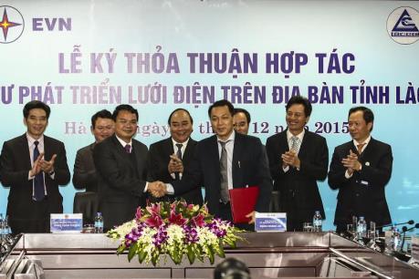 Ký kết đầu tư phát triển lưới điện tỉnh Lào Cai