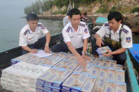 Triệt phá gần 9.700 vụ buôn lậu thuốc lá