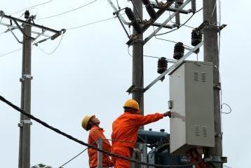 Kon Tum đóng điện phục vụ cho các hộ dân của huyện mới Ia H'Drai