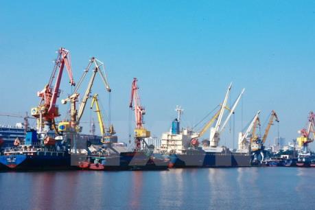 Cảng Hải Phòng đón mã hàng đầu tiên năm 2016