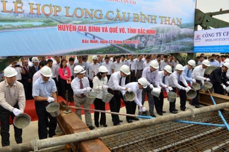 Bắc Ninh khánh thành cầu Bình Than