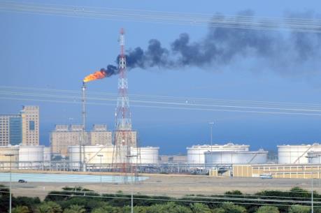 Giá dầu thô Mỹ xuyên thủng mốc 30 USD/thùng