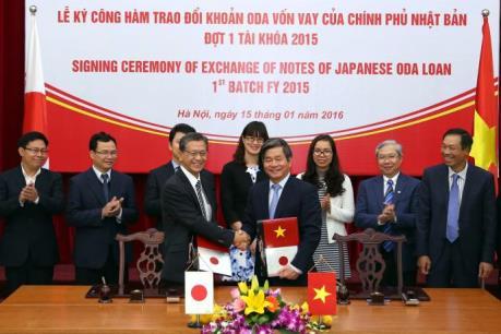 Nhật Bản cung cấp khoản ODA hơn 95 tỷ Yên cho Việt Nam