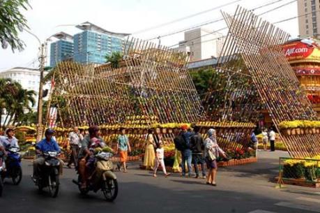 Tp. Hồ Chí Minh lập nhiều bãi giữ xe phục vụ người dân dịp Tết