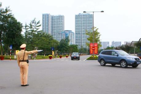 Quy định mới về quyền hạn của cảnh sát giao thông