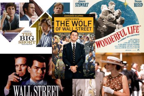 Năm bộ phim thú vị của Hollywood về tài chính