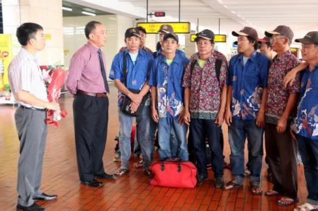 Indonesia trao trả 17 ngư dân Việt Nam