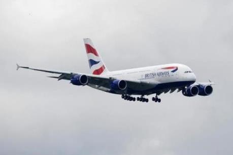 Máy bay chở khách của British Airways va chạm với vật thể bay không người lái