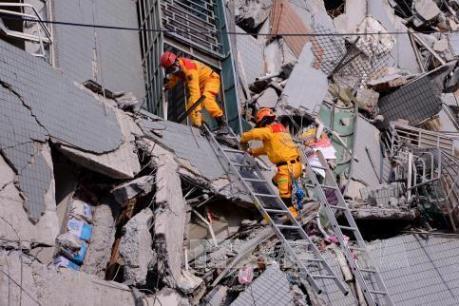 Vụ động đất ở Đài Loan (Trung Quốc): Con số thiệt mạng tăng lên 116 người