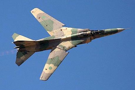 Libya: Một máy bay MiG-23 bị bắn rơi tại Benghazi