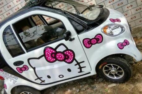 Xe ôtô điện mini lưu thông trên đường có thể bị tịch thu