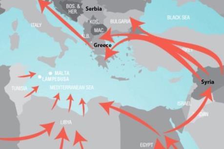 Hiệp ước Schengen đổ vỡ, EU sẽ thiệt hại 1.400 tỷ euro