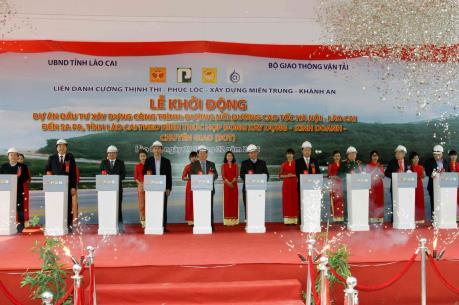 Khởi động dự án đường nối cao tốc Nội Bài-Lào Cai lên Sa Pa