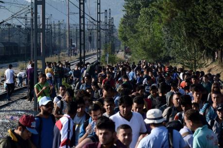"""Vấn đề người di cư: Hy Lạp sẵn sàng cho """"kế hoạch B"""""""