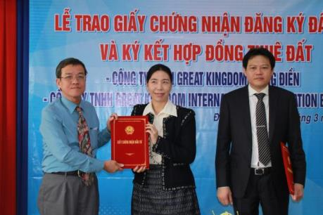 Đầu tư 65 triệu USD sản xuất gỗ xuất khẩu tại Đồng Nai