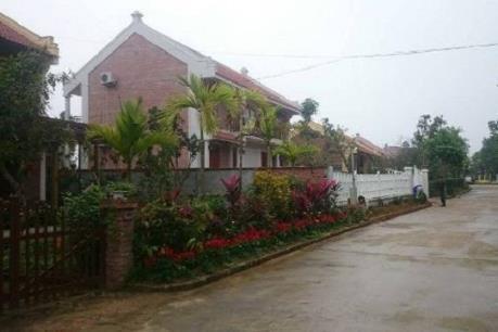 Hà Nội làm rõ vi phạm tại Khu resort Điền Viên Thôn