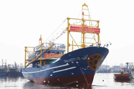 Đà Nẵng hạ thủy tàu vỏ thép đầu tiên theo Nghị định 67