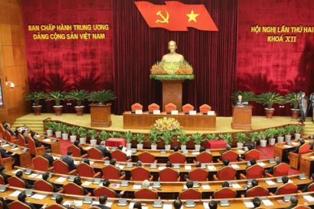 Toàn văn Thông báo Hội nghị lần hai BCH Trung ương Đảng khóa XII