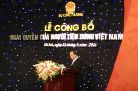 Công bố Ngày Quyền của người tiêu dùng Việt Nam