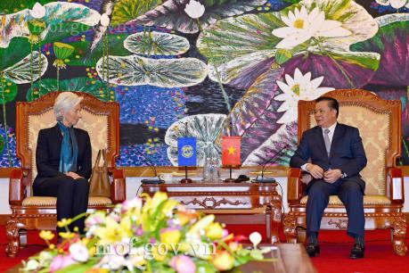 Thắt chặt hợp tác giữa IMF và Bộ Tài chính