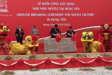 Nestlé Việt Nam xây dựng nhà máy mới tại Hưng Yên