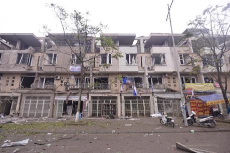 Vụ nổ ở khu đô thị Văn Phú - Hà Đông: Khẩn trương cấp cứu các nạn nhân