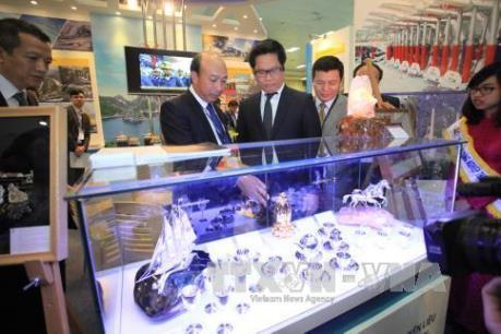 Khai mạc triển lãm quốc tế về công nghệ khai khoáng