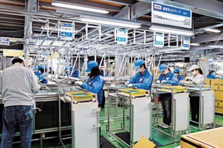 Nhật Bản: Sản lượng công nghiệp giảm mạnh nhất kể từ năm 2011